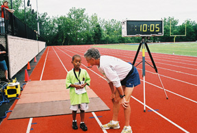 Frank Shorter provides advice